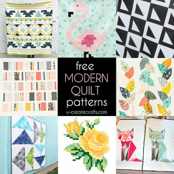 Free Modern Quilt Patterns - U Create