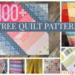 FREE QUILT PATTERNS TO MAKE A PERFECT   QUILT