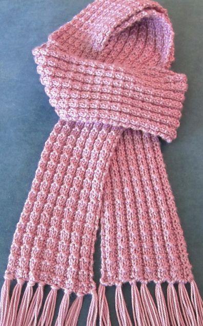 Free Knitting Pattern for Heartwarming Scarf- Julie Farmer's