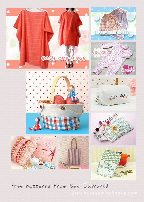 Free Japanese Sewing Patterns u2013 Sew.Co World by Brother | Japanese