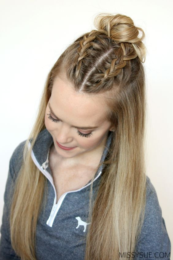 Top 50 French Braid Hairstyles You Will Love | Hair | Pinterest