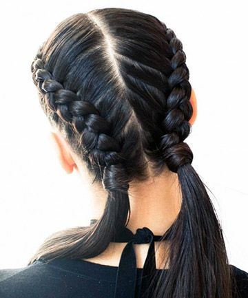 The beautiful and elegant French braid   hairstyles