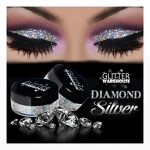 Glitter eye makeup will make your eyes   bold and beautiful