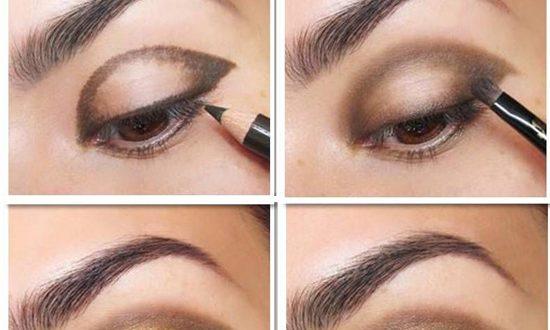 Extravagant Gold Glitter Eye Makeup Tutorial | Chikk.net