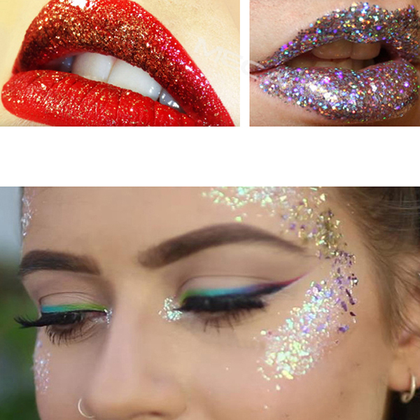 Best Garmiss Makeup Glitter Eyeshadow Powder Cosplay Eye Shadow Lip