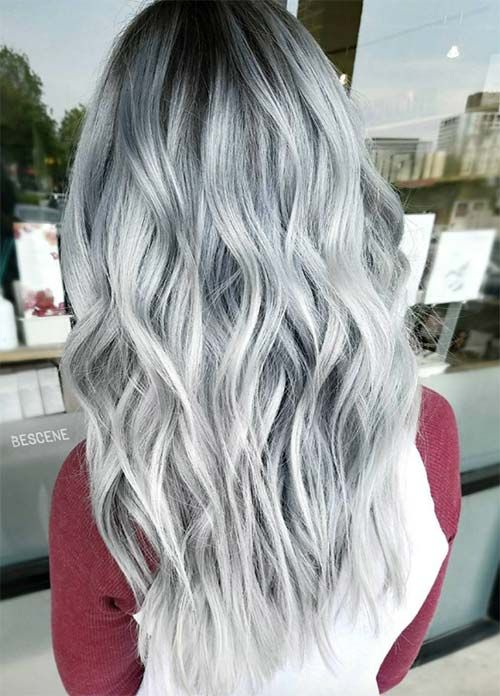85 Silver Hair Color Ideas and Tips for Dyeing, Maintaining Your