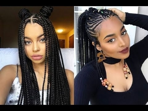 black hair braids styles 2018 african braids hairstyles ideas for