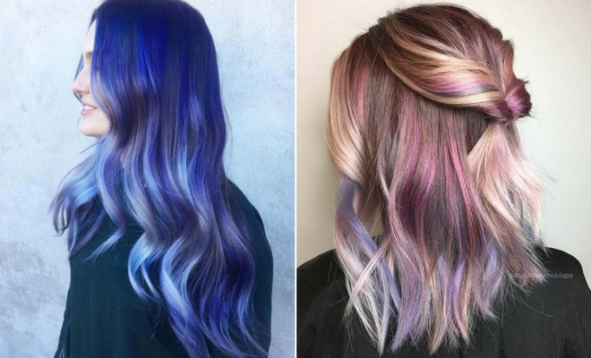 23 Unique Hair Color Ideas for 2018 | StayGlam