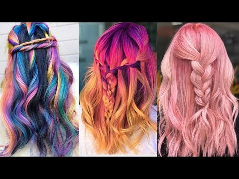 New Hair Color Ideas for 2018 ❀ Amazing Hair Color Transformations