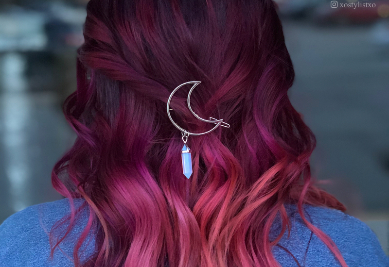 15 Best Maroon Hair Color Ideas of 2019 - Dark, Black & Ombre Colors