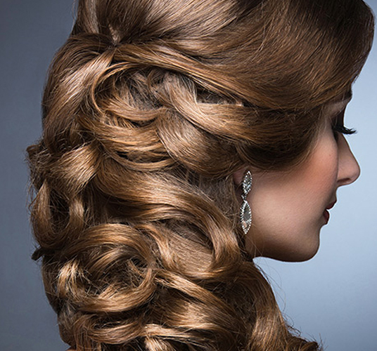 Choose the hair design you like to   enhance your style