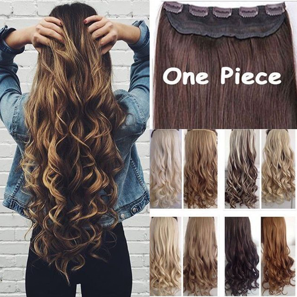 Hair Extensions - 2019 New Fashion Looks Natural Clip in Hair