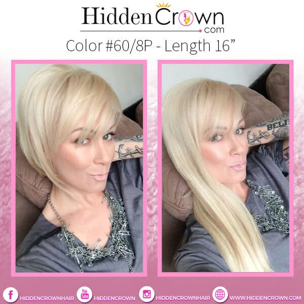 Can I Wear a Hidden Crown With Short Hair? - Hidden Crown Hair