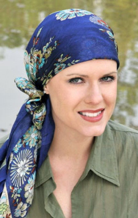 100% Pure Silk Head Scarf | Silk Scarf for Hair