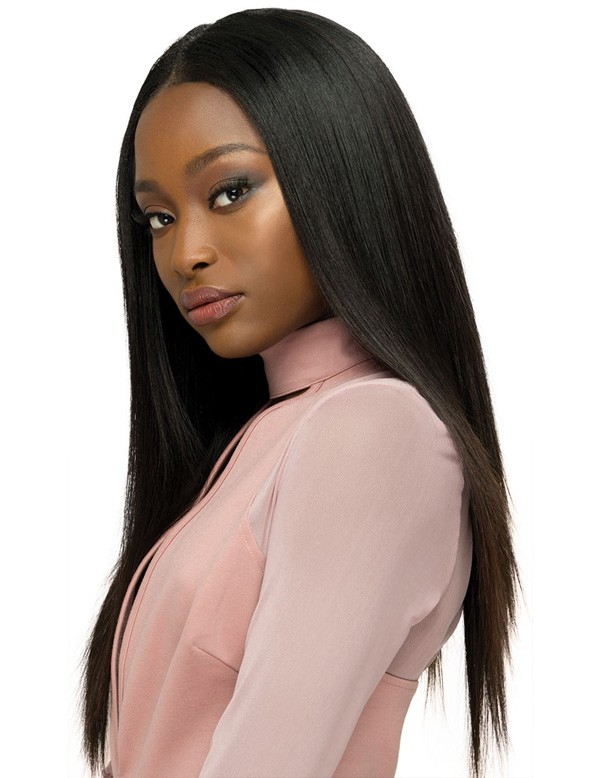 Outre 100% Human Hair Weave Kit Bundle Babe Straight - Elevate Styles
