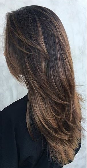 warm cocoa brunette highlights | Hair Color | Pinterest | Hair, Hair