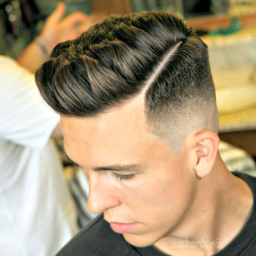 Different hairstyles for boys for classy look
