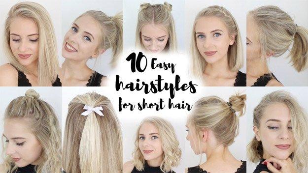 17 Easy Back To School Hairstyles | Makeup Tutorials