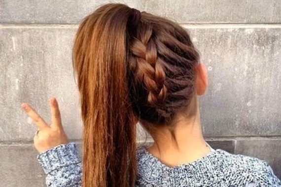 15 Hairstyles for High School Girls