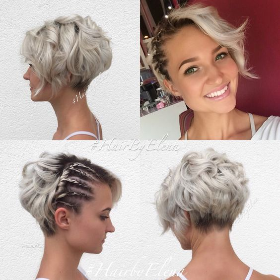 10 Messy Hairstyles for Short Hair 2019 - Short Hair Cut & Color Update