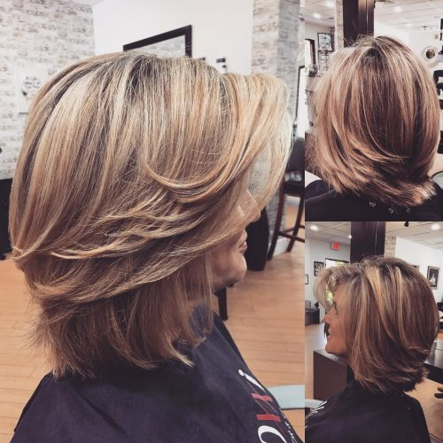 Choose from different hairstyles for   women over 50