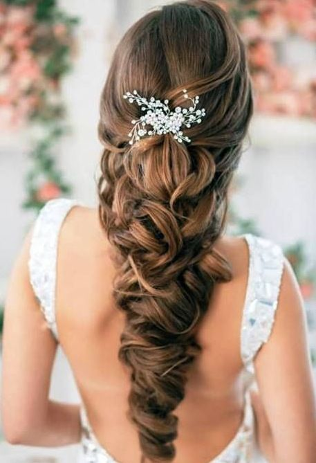 Bridal Hairstyles for Princess Look | on to all | Pinterest