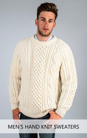 Hand Knit Irish Sweaters | Hand Knit Wool Sweaters
