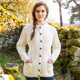 Hand Knit Irish Fisherman Sweaters - Hand Knit Arans - The Irish Store