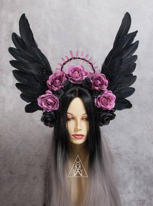 My witchery: amazing fantasy and pagan headpieces and horns