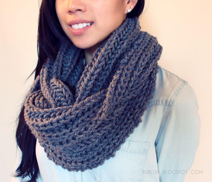 Amazing infinity scarf knitting patterns - Crochet and Knitting