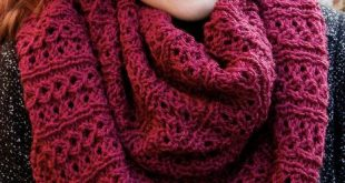 Free Knitting Pattern for Stockholm Infinity Scarf - This cowl