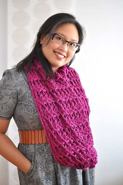 Infinity Scarf Knitting Pattern | Cosmicpluto Borden Infinity Scarf