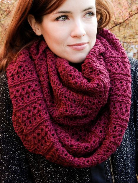 INFINITY SCARF KNITTING PATTERN TO KNIT   OR YOURSELF AMAZING SCARF FOR YOURSELF