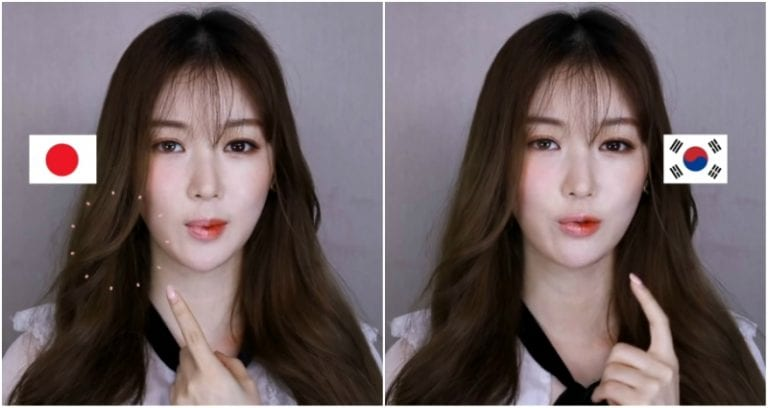 YouTuber Reveals The Difference Between Japanese and Korean Makeup