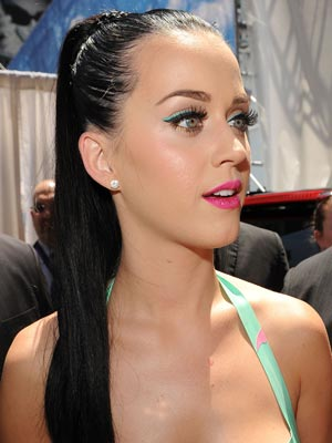 Love, love, love Katy Perry's summer make-up - CelebsNow