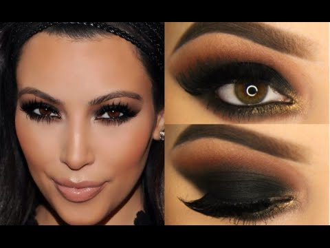Kim Kardashian Makeup Tutorial! - YouTube