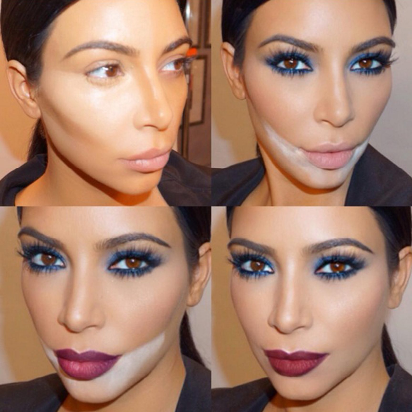 We try the Kim Kardashian-endorsed make-up trick everyone is talking
