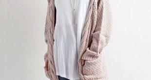 Cozy Knit Cardigan Sweater u2013 Kahlily.com