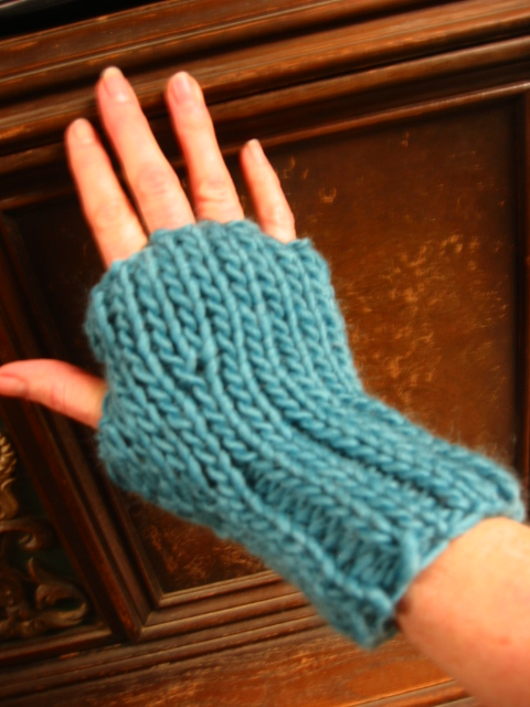 Julianne Fingerless Gloves | FaveCrafts.com