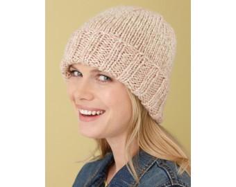 Simple Hat Pattern (Knit) | Lion Brand Yarn