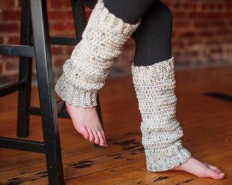 Knit leg warmers | Etsy