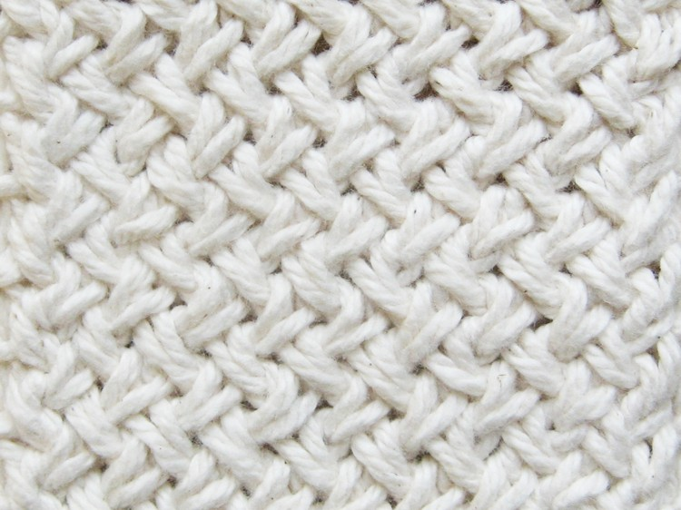 Diagonal Basketweave Knitting Pattern - How Did You Make This