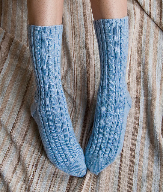 Ravelry: BFF Socks pattern by Cookie A