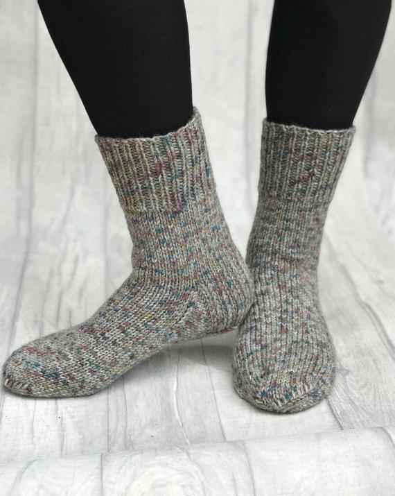 Knitted Men Socks Hand Knit Socks Hand Knit Mens Wool | Etsy