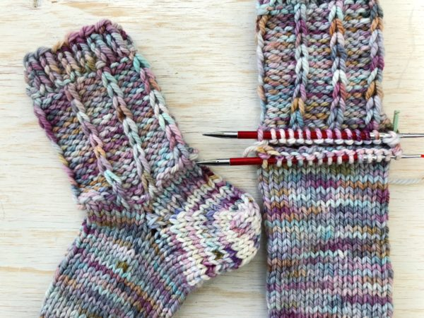 Afterthought Heel | Knitting Socks Two at a Time | Vickie Howell