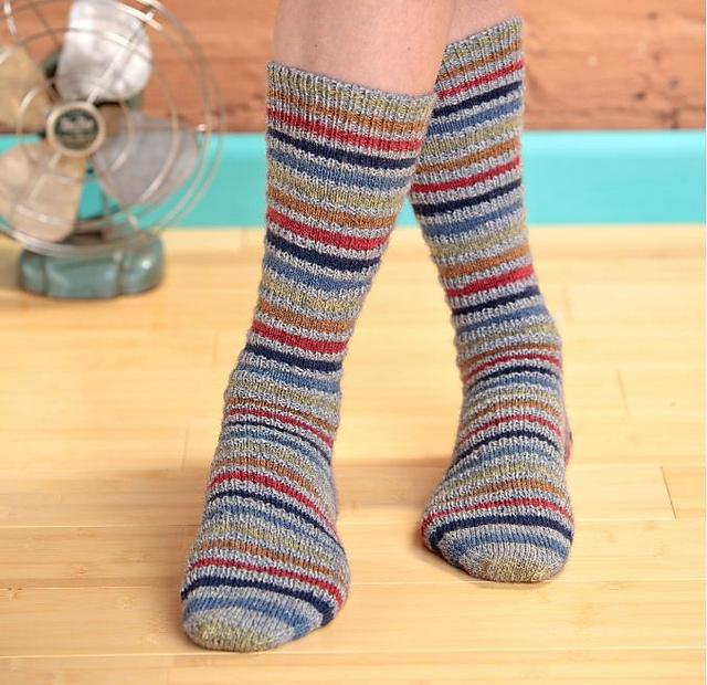 Ravelry: Speed Bump Socks pattern by Deb Barnhill