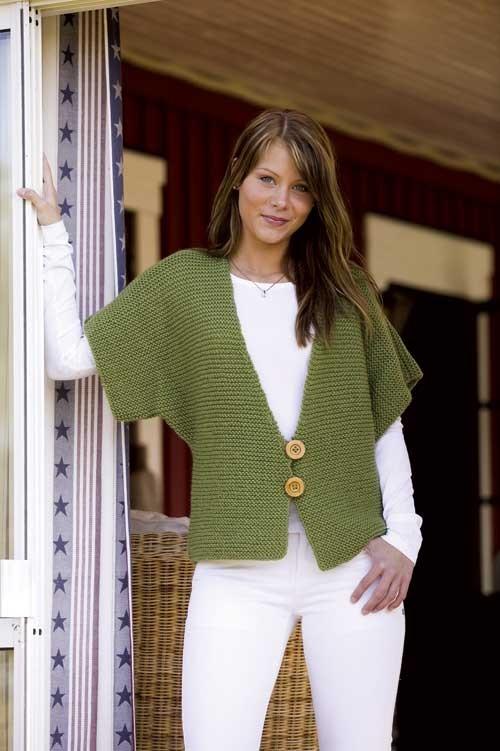 Fast Knit Vest Pattern