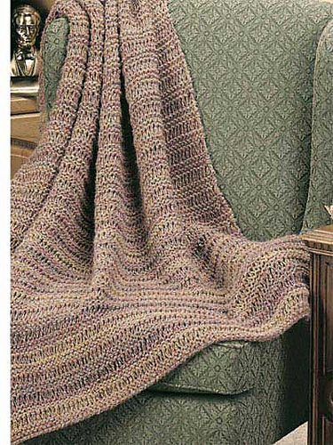 Ravelry: Quick Knitted Afghans - patterns