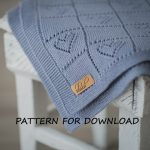 Tender textile: knitted baby blanket   patterns