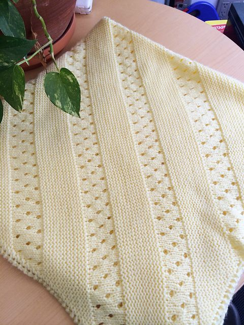 Baby Blanket Knitting Patterns | AFGANS AND BLANKETS | Pinterest